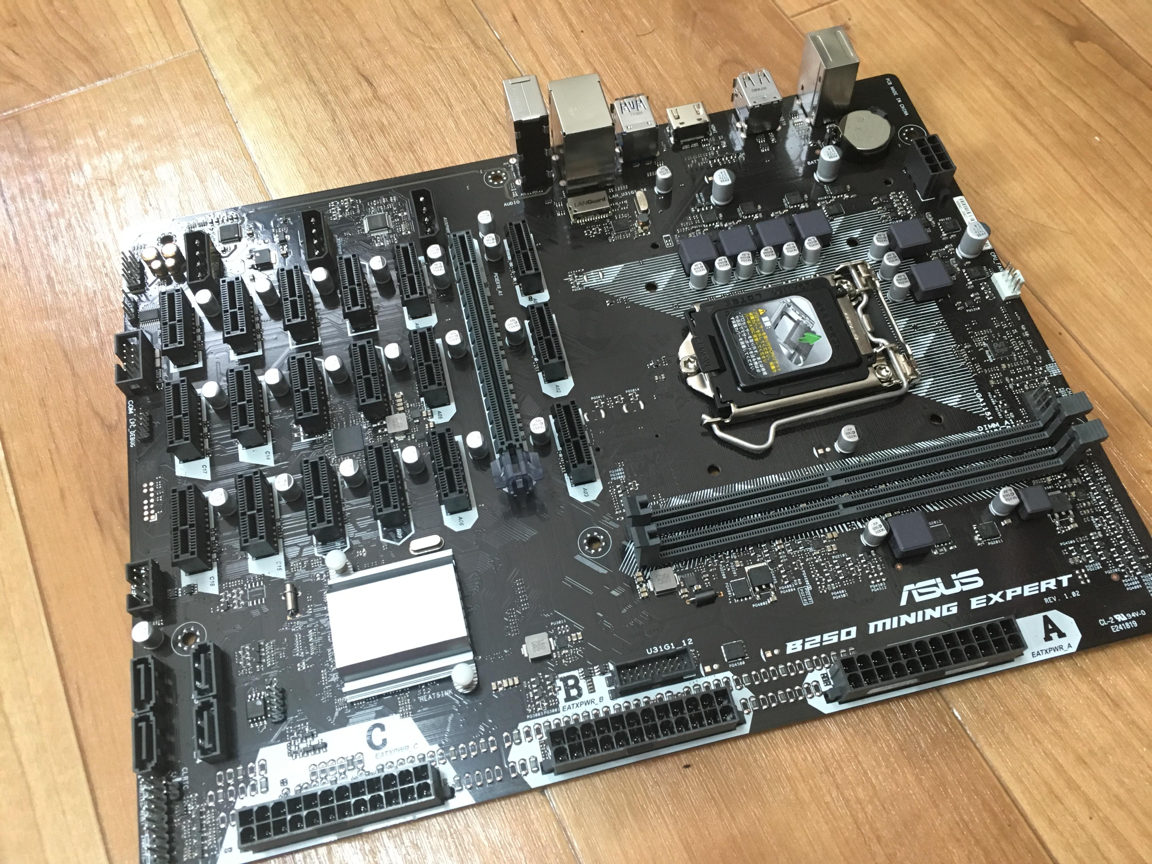 GPU19枚接続!凶悪マザーボードB250 MINING EXPERTが値下げ!